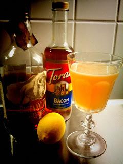Torani Bacon Syrup, Trader Magnus