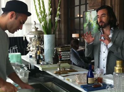 Nikka Perfect Serve in Stockholm with Stanislav Vadrna, Trader Magnus