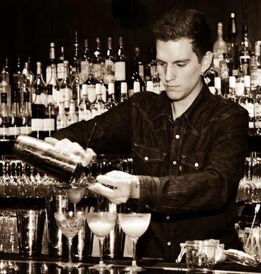 Bacardi Legacy cocktail competition in Stockholm, Trader Magnus