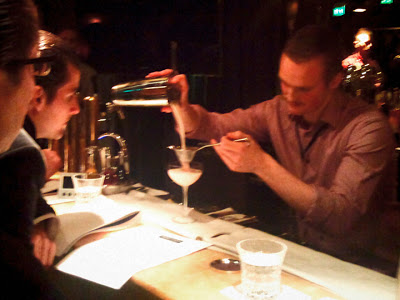 Diageo Reserve World Class 2012 competition in Stockholm, Trader Magnus