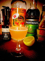 Chartreuse competition cocktail recipes, Trader Magnus