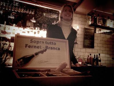 Fernet Branca workshop in Stockholm, Trader Magnus