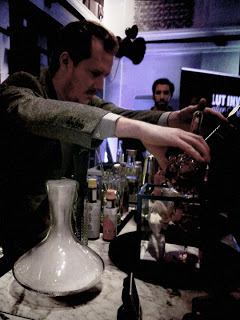 Absolut Invite cocktail competition finals in Stockholm, Trader Magnus