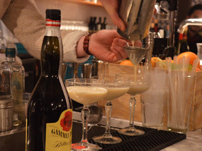 Gammel Dansk cocktail competition in Stockholm, Trader Magnus