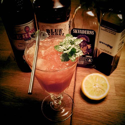 Review: Skvaderns herbal liqueur, Trader Magnus