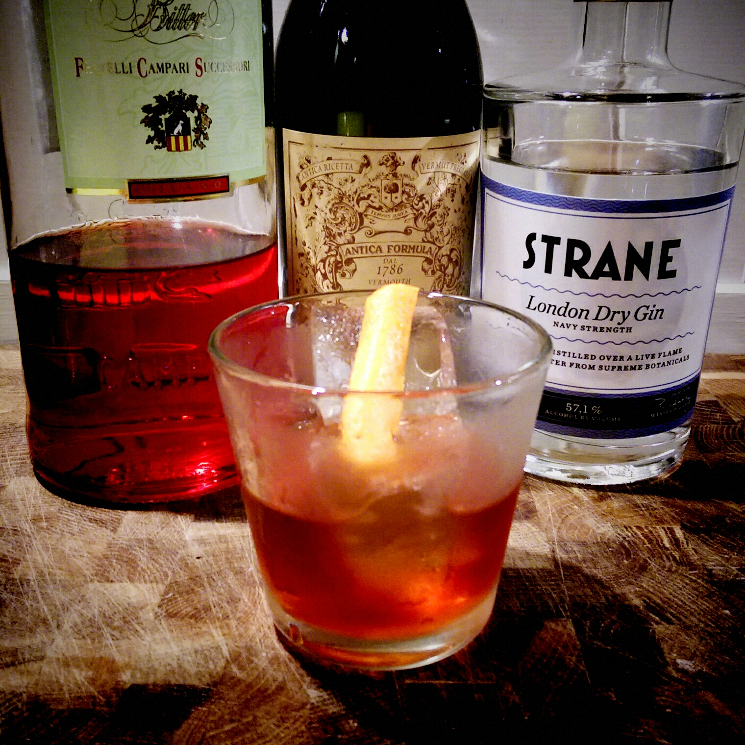 Review: Strane Navy Strength Gin, Trader Magnus