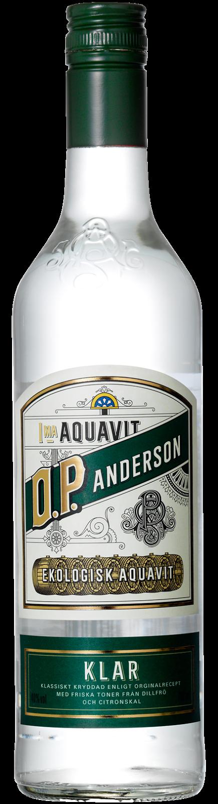 Review: O.P. Anderson Klar aquavit, Trader Magnus