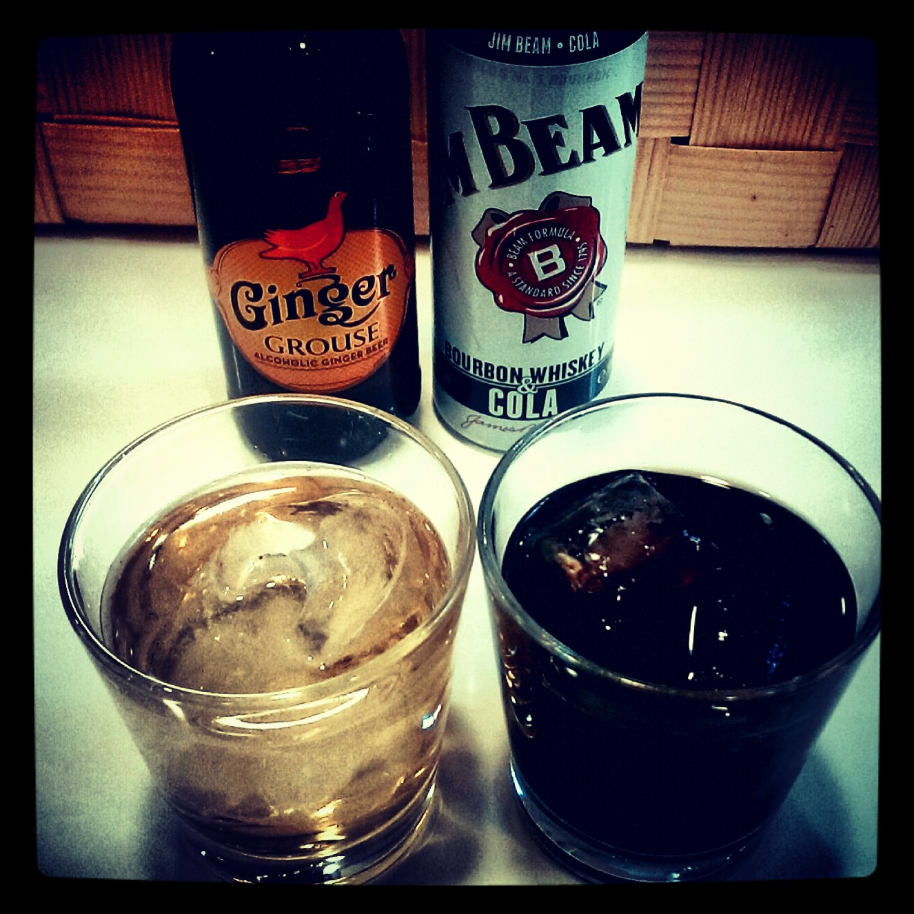 Quick review: Ginger Grouse / Jim Beam Bourbon & Cola RTD, Trader Magnus