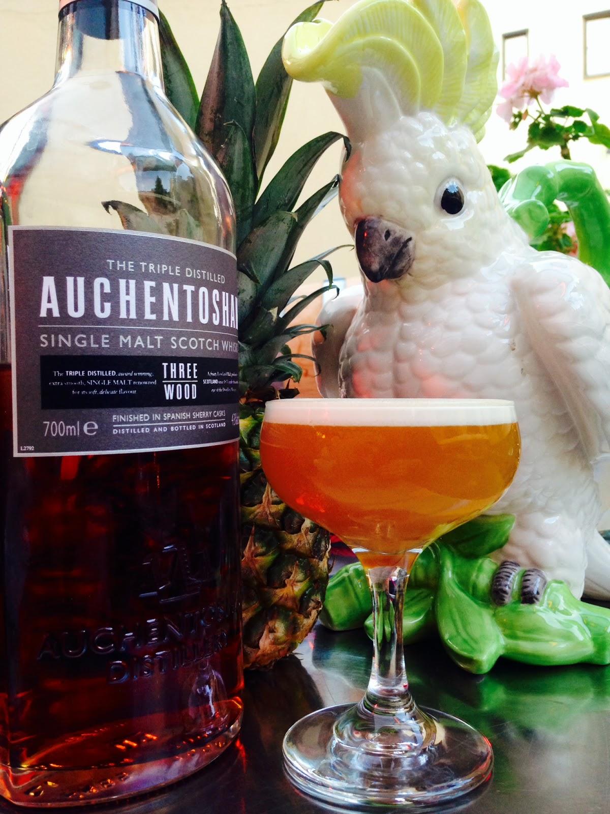 Auchentoshan Switch cocktail competition in Stockholm, Trader Magnus