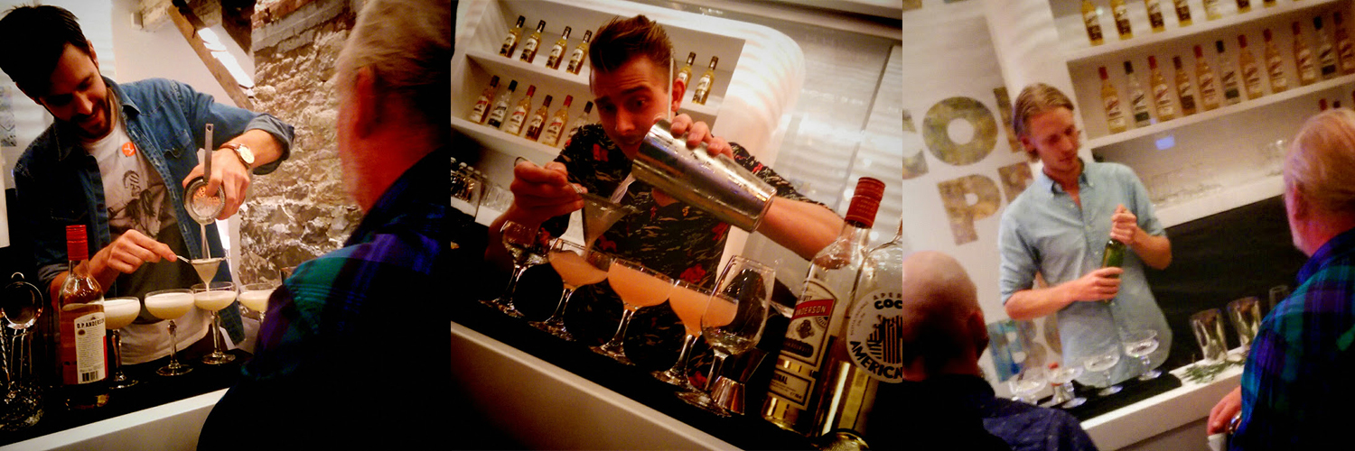 O.P. Open cocktail competition in Stockholm, Trader Magnus
